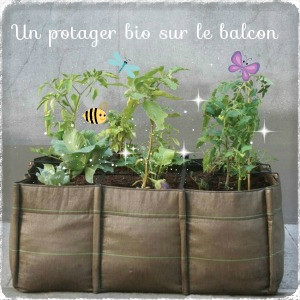 un potager sur votre balcon actubio. Black Bedroom Furniture Sets. Home Design Ideas