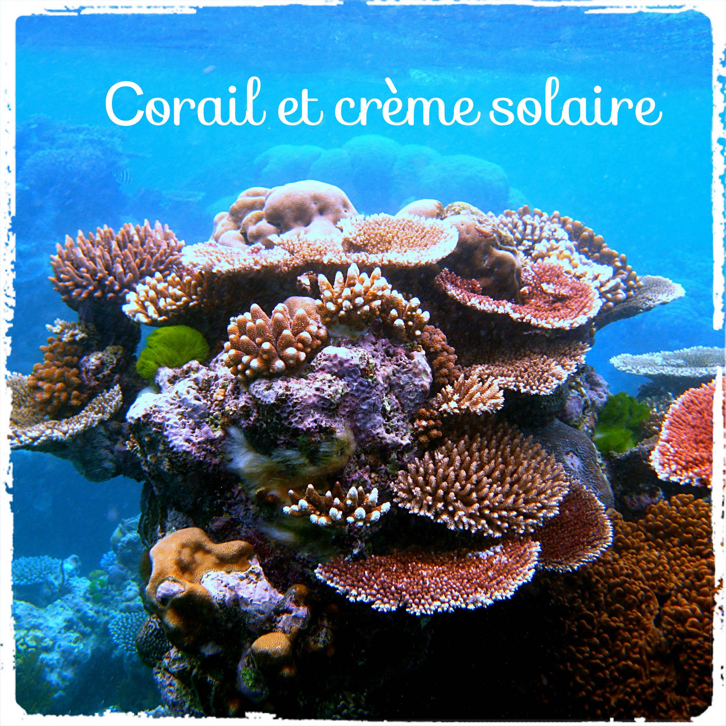 corail crème solaire